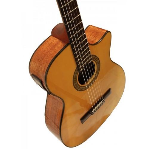 CRAFTER Gitar Akustik Elektrik [SNT 380EQ/YL] - Yellow - Gitar Akustik Elektrik